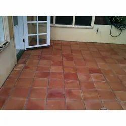 Terracotta Tiles, Size: 8 X 8 Inch