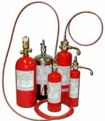 Mild Steel CO2 Based Fire Trace Fire Suppression System, For Industrial, Capacity: 4Kg