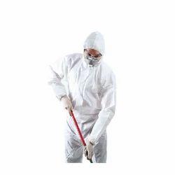 Vimal White Chemical Safety Uniform