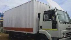 Close Body Container Truck Service