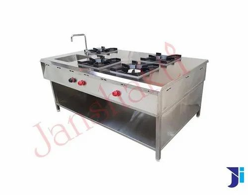 Janshakti Stainless Steel Hotel Kitchen Equipment
