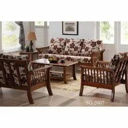 Modern Wooden Teak Sofa for Home