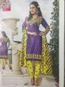 Womens Cotton Printed Salwar Suit Material (2.5m)
