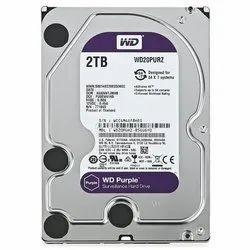 WD HDD Hard Disk 2 TB
