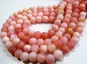 Natural Peruvian Opal Round Ball Shape Beads