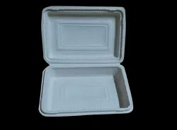 500 ml Biodegradable Clamshell