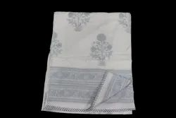 Cotton Block Printed AC Dohar