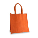 Orange Jute Bag