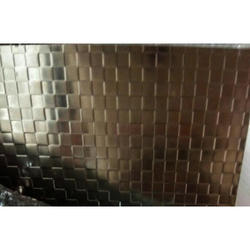 Stainless Steel Chess Cube Sheet