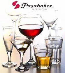 Transparent Soda Lime Pasabahce Glassware, For Restaurant, Capacity: 30-1000ml