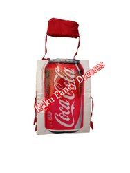 Kids Coca Cola Cut Out Costume