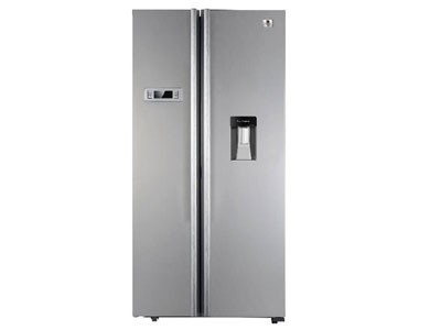 White Westinghouse Steel Finish Refrigerator Capacity