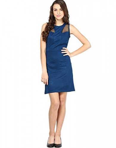 b7a6fde02a9 97% Viscose 3% Spandex Black Women  s Viscose Solid Sleeveless Body Con  Dress