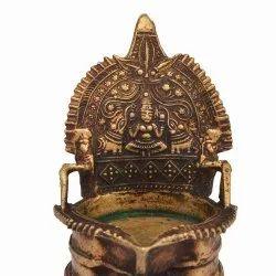 Brass Laxmi Lamp
