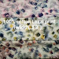 Cotton Lozzi Print Shirting Fabric