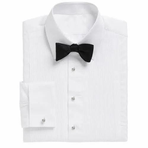 Men White Tuxedo Shirt, Rs 500 /piece Aqsa Garment | ID: 15411797497