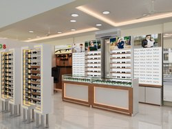 Latest Spectacles Showroom Interior Design - New