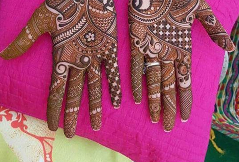 Indian Mehandi Designs In Mumbai Dadar West By Kapil Mehandi Art
