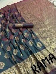 6 m (with blouse piece) Wedding Banarsi Silk Saree