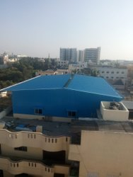 Color Coated Metal Roofing Contractor Service, For Residential and Commercial