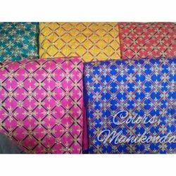Pure Silk Embroidery Fabric