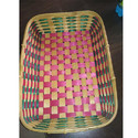 Bamboo Square Decorative Basket