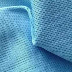 100% Cotton Plain Blue Knitted Fabric, For Garments, GSM: 100-150
