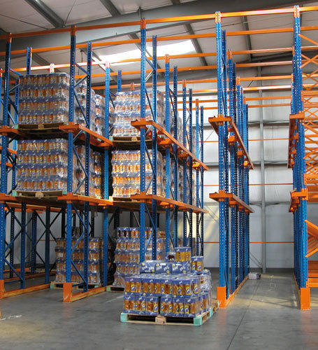 Reliable Storage Systems Drive Thru Racking System
