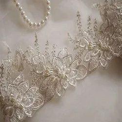 Fancy Beaded Lace