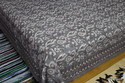 Dabu Hand Block Printed Cotton Bed Sheet