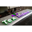 Acrylic All Color Bright Led Signage, Shape: Rectangle