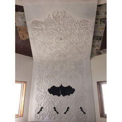 Ceiling Panel Carving & Engraving
