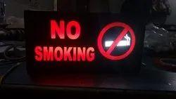 No Smoking LED Sign Board