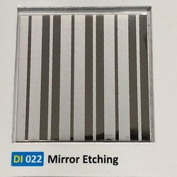 Mirror Etching Finish Decorative Sheets for Elevators