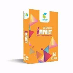 Century Impect 65 GSM, Packaging Type: Box