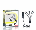 Troops 5 In 1 Car Charger Tp- 259, Length: 1 M