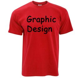 Red S-XXL Mens Printed T Shirt