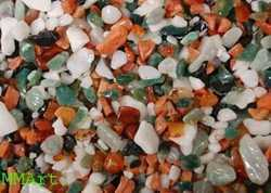 Agate Stone Multi Color Chips / Mix Natural Stone Chips / Aquarium Decoration Colored Chips