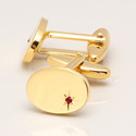 Ruby Natural Precious Jewelry Mens Accesories Giftable Gemstone Cufflink