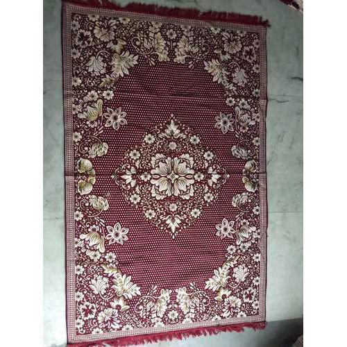 Maroon Traditional Designer Carpet, Size: 5x7 feet