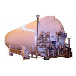 Vacuum Insulated Liquid Nitrogen Cryogenic Storage Tank