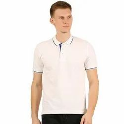 Muscle Fit Collar T Shirts for Men