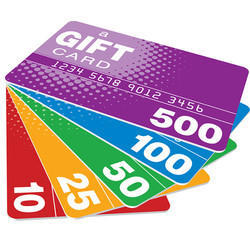 Plastic Gift Card
