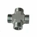 O Ring Face Seal Cross Fitting
