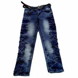 Casual Wear Kids Girls Denim Jeans