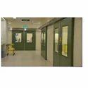 Hygienic Sliding Fire FRP Doors