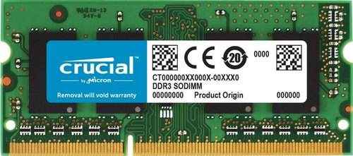 Crucial 8GB DDR4 2400MHZ Laptop Ram, Warranty: 3 Years