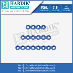 Mandible Plate (Titanium)