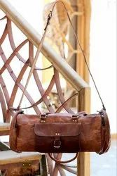 Leather Duffel Bag, Luggage, Holdall, Carry On, Weekender, Travel Bags, Handmade Bags