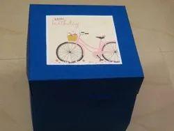 Birthday Craft Paper Chocolate Explosion Box